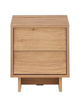 Leon 2 Drawer Bedside