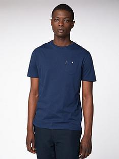 ben-sherman-spade-pocket-t-shirt-dark-navy