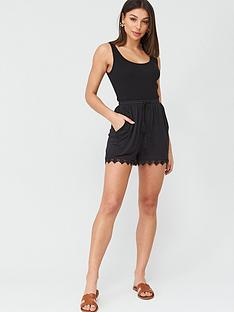 v-by-very-lace-trim-jersey-shorts-black
