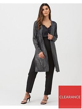 wallis-shimmer-sequin-jacket-black