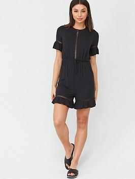 v-by-very-lace-trimnbspplaysuit-black