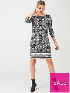 wallis-tile-border-print-tunic-black