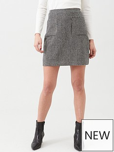 warehouse-pocket-detail-pelmet-skirt-monochrome