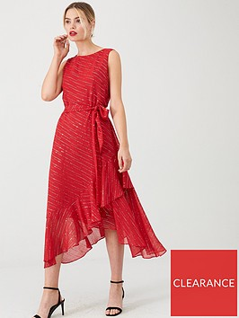 wallis-twinkle-fit-and-flare-midi-dress-berry