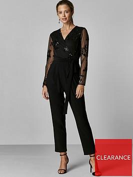 wallis-wallis-petite-floral-sequin-mesh-jumpsuit