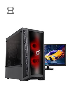 zoostorm-stormforce-onyx-intel-i3-9100f-8gb-ram-1tb-hard-drive-4gb-gtx-1650-graphics-gaming-pc-black-24-inch-asus-gaming-monitor