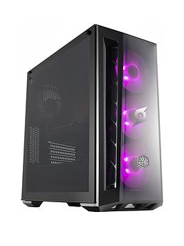 Zoostorm Stormforce Crystal Amd Ryzen 5 3600, 16Gb Ram, 1Tb Hard Drive &Amp; 250Gb Ssd, 6Gb Gtx 1660Ti Graphics, Gaming Pc - Black