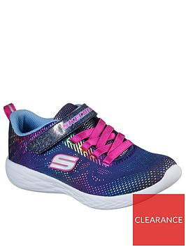 skechers-girls-go-run-600-shimmer-speeder-trainers-navy