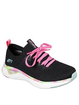 skechers-girls-solar-fuse-trainers-black