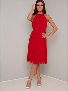 chi-chi-london-soren-dress-red