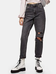 topshop-32-seoul-rip-mom-jeans-washed-black