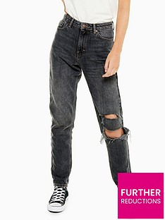 topshop-34-inch-seoul-rip-mom-jeans-washed-black