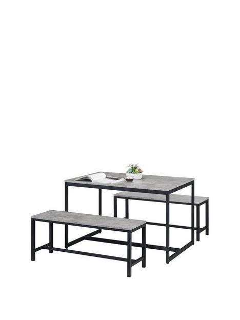 julian-bowen-staten-120-cm-dining-table-2-benches