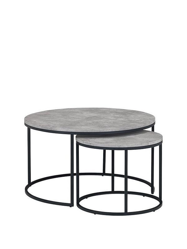 Julian Bowen Staten Nested Coffee Tables Very Co Uk