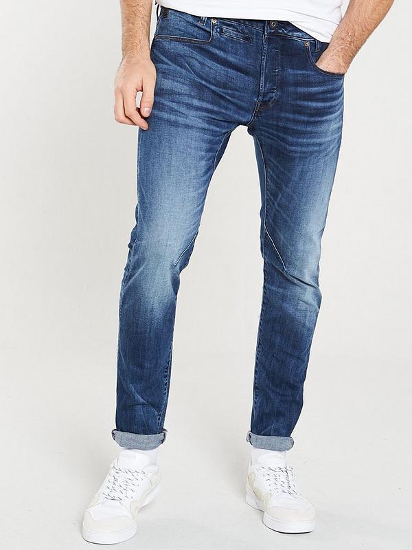 G-Star Raw Mens D-STAQ 5-Pocket Slim Jeans