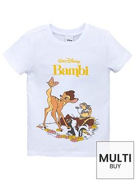 disney-girls-bambi-short-sleeve-t-shirt-white