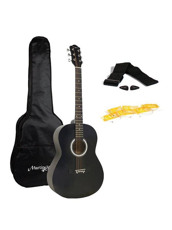 Martin Smith W 100 Full Size Acoustic Guitar Black