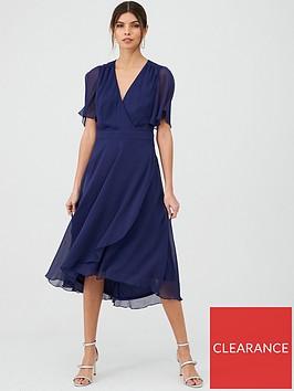 v-by-very-soft-wrap-woven-dress-navy