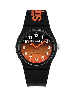 superdry-superdry-urban-laser-orangeblack-graduated-dial-black-silicone-strap-unisex-watch