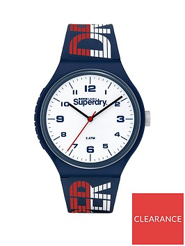 superdry-superdry-urban-xl-racing-white-dial-navy-silicone-strap-unisex-watch