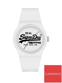 superdry-superdry-urban-original-white-dial-white-silicone-strap-unisex-watch