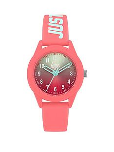 hype-hype-blue-pink-ombre-dial-pink-just-hype-printed-silicone-strap-kids-watch
