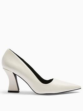 topshop-flared-heel-court-shoes-white