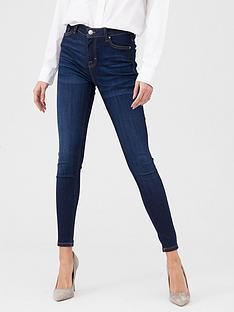 v-by-very-premium-ultrasoft-seed-wash-skinny-jeans-dark-wash
