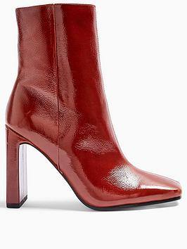 topshop-halia-square-toe-high-heel-boots-tan