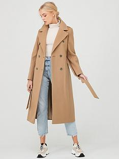river-island-river-island-double-breasted-longline-belted-coat-camel