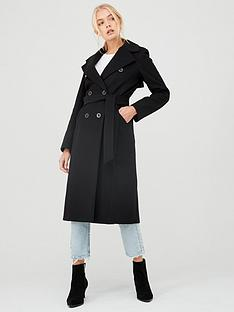 river-island-river-island-double-breasted-longline-belted-coat-black