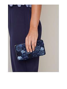 chi-chi-london-jaeda-floral-clutch-bag-navy