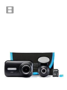 nextbase-322-dash-cam-exclusive-bundle-with-rear-camera-32gb-memory-card-and-carry-case