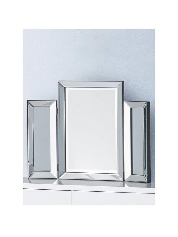 Julian Bowen Soprano Folding Dressing Table Mirror Very Co Uk