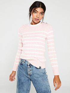 superdry-croyde-bay-cable-knit-jumper-soft-pink