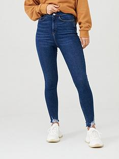 v-by-very-charley-destroyed-hem-skinny-jean-dark-wash