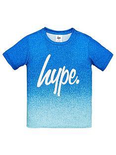 hype-boys-fade-script-t-shirt-blue