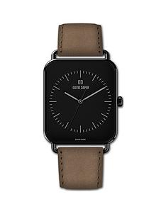 david-daper-david-daper-black-38mm-tank-dial-brown-leather-strap-watch