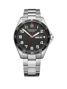 victorinox-victorinox-swiss-made-fieldforce-black-super-luminova-sapphire-glass-42mm-daydate-dial-stainless-steel-bracelet-watch