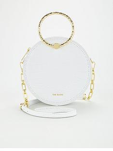 ted-baker-textured-metal-handle-circle-cross-body-bag-ivory