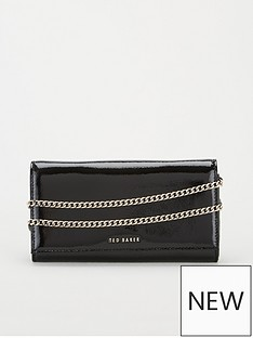 ted-baker-enrici-crinkle-patent-cross-body-matinee-bag-black