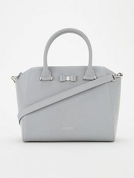 ted-baker-daryyl-bow-detail-tote-mid-grey