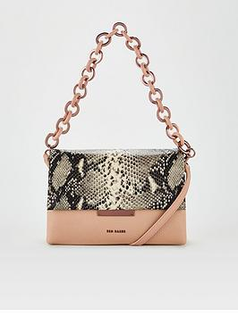 ted-baker-alani-resin-chain-exotic-cross-body-bag-taupe