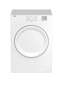Beko Dtgv8000W 8Kg Vented Tumble Dryer - White