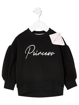 river-island-mini-mini-girls-princess-bow-sweatshirt-black
