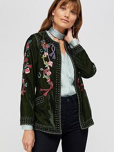 monsoon-callie-embroidered-velvet-jacket-olive