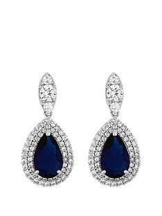 jon-richard-jon-richard-cubic-zirconia-baguette-navette-sapphire-pear-drop-earring