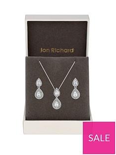 jon-richard-jon-richard-double-pear-drop-pendant-and-earring-set