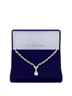jon-richard-jon-richard-cubic-zirconia-crystal-graduated-pear-y-drop-necklace
