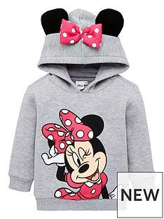 minnie-mouse-girls-minnie-mouse-ears-overhead-hoodie-grey-marl